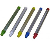 Pistolfiltre, dysefiltre, In-Line slangefilter