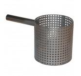 Perforert kopp med håndtak