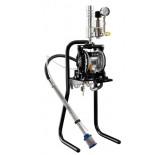 DM 1/300 membranpumpe med sugeslange og stativ